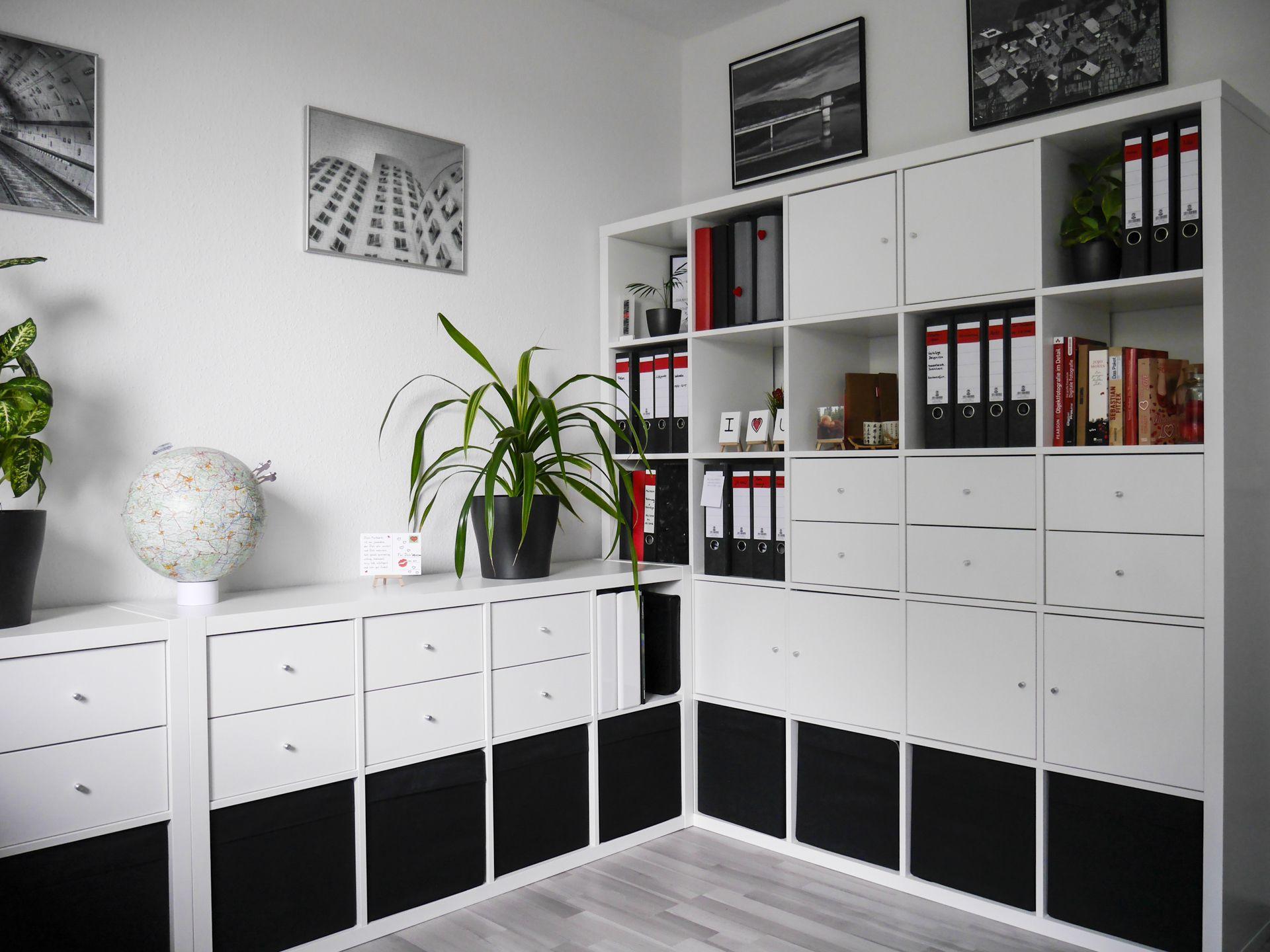 b ro einrichten kreative ideen zum nachmachen wohnen pinterest ikea kallax and office. Black Bedroom Furniture Sets. Home Design Ideas