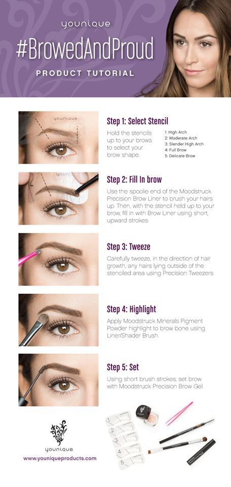 Get Your Best Brows On Httpsyouniqueproducts