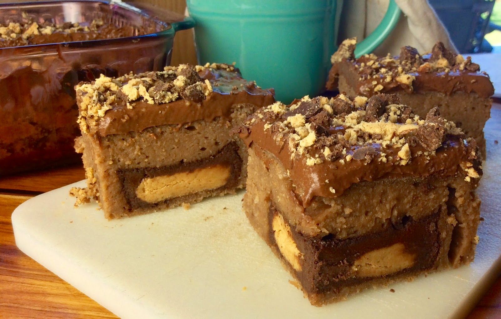 Food Fitness by Paige: Peanut Butter Cup stuffed Brownies