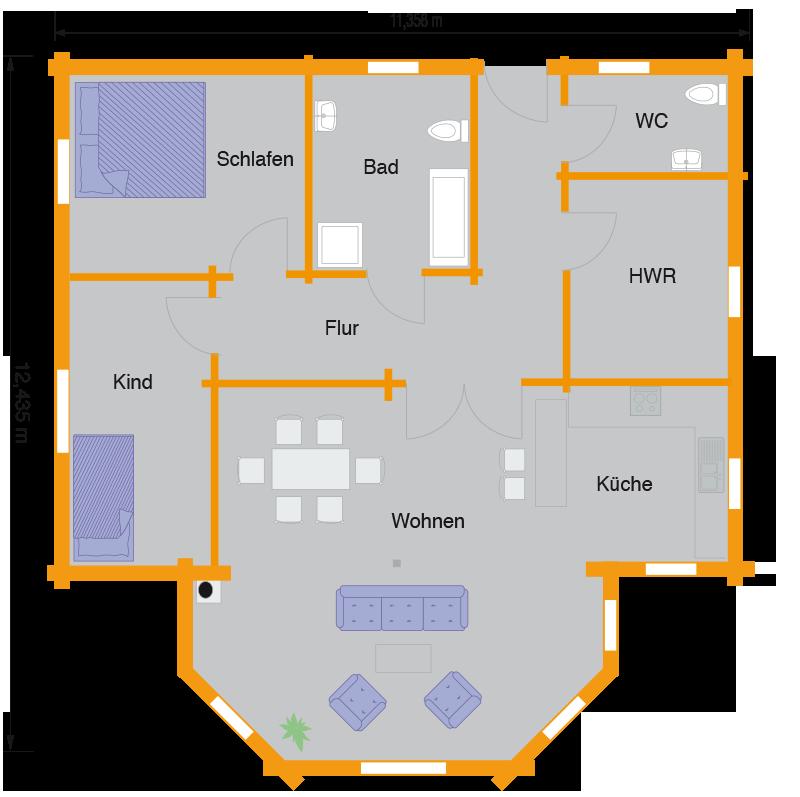 holzh user preise schl sselfertig nordic haus. Black Bedroom Furniture Sets. Home Design Ideas
