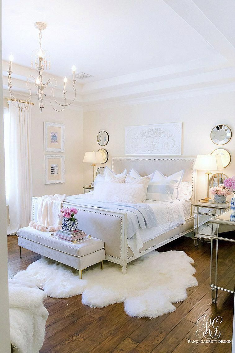 Arkansas lifestyle blogger, Jennifer from Maune Legacy, shares 10 gorgeous white bedroom ideas with neutral and grey. Click here to see them all! #Bedroomdecor