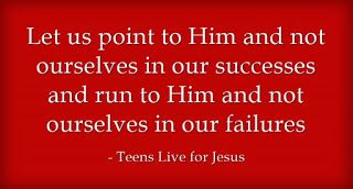 Teens live for Jesus: All eyes on You