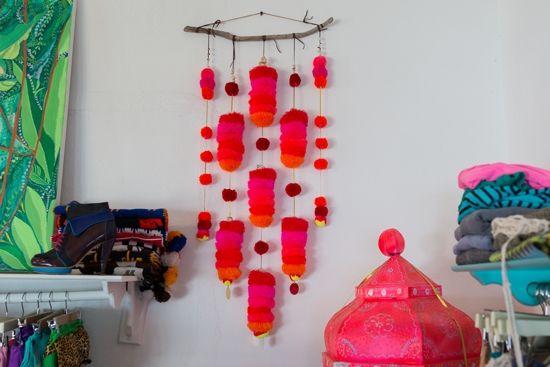Ula store, Sayulina Nayarit, Mexico. Wall adornment Oh Joy | What We Did in Mexico…