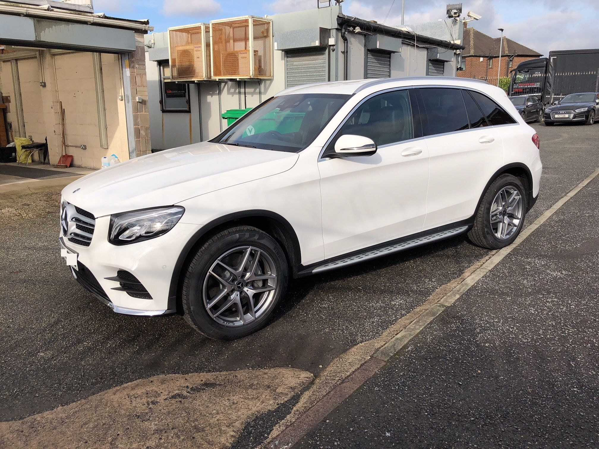 The Mercedes Benz Glc Diesel Estate Glc 220d 4matic Amg Line 5