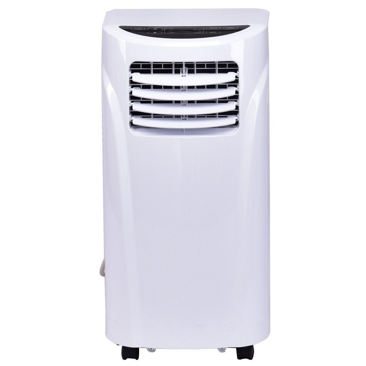 Costway 10000 Btu Portable Air Conditioner With Remote Control Dehumidifier Function Window Wall Mount W Air Conditioner Portable Air Conditioner Dehumidifiers