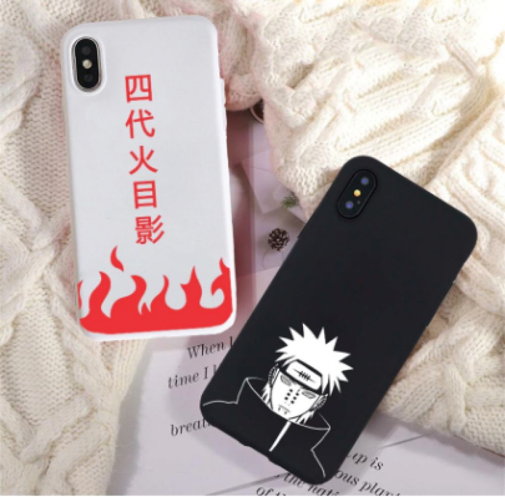 Naruto anime soft phone cases for samsung and iphone