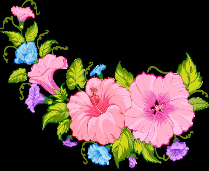 Рисунок красивые цветы для оформления, картинки домашними животными