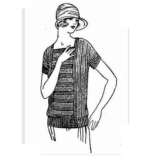 Ravelry: Striped Crochet Jumper pattern by The Catholic