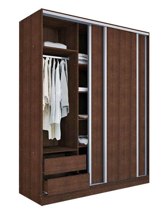 Ropero 3 Puertas Corredizas Ropero Puertas Corredizas Diseño Interior De Dormitorio