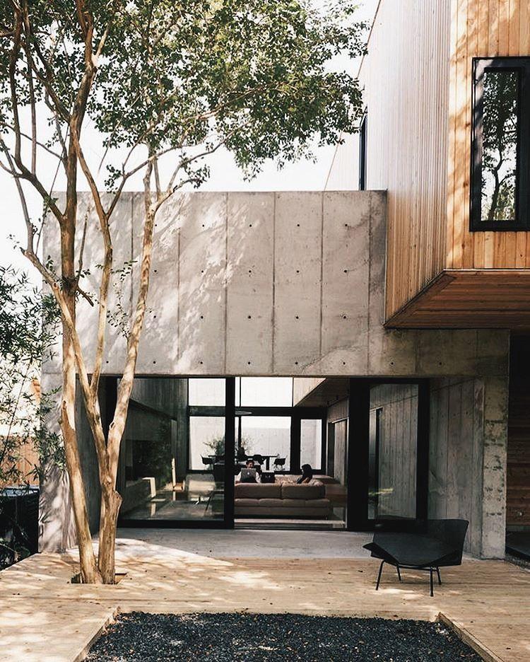 Beindruckendes Haus Aus Holz Und Beton / Interior * Minimalismus By  LEUCHTEND GRAU