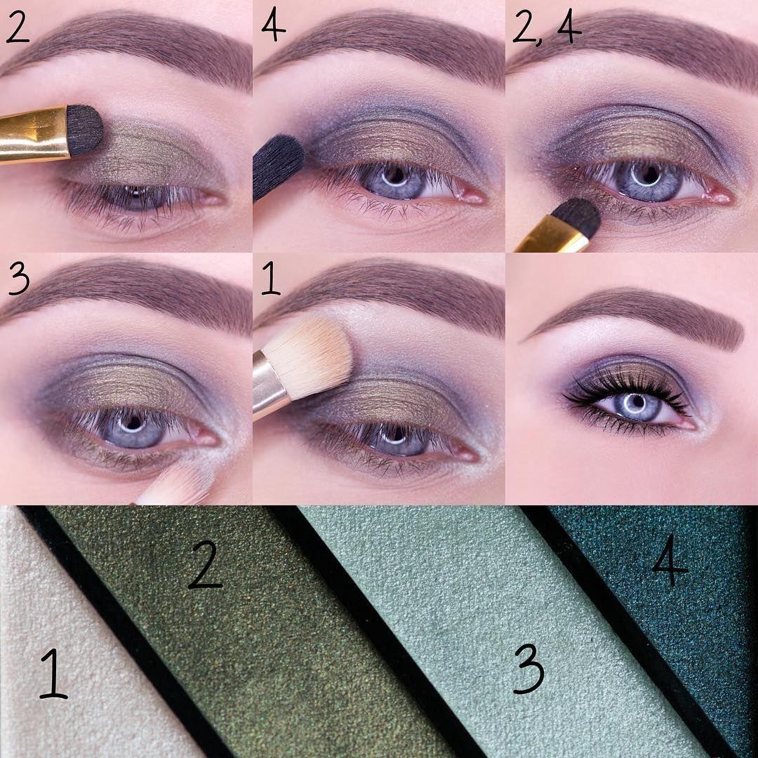 Green eyeshadow makeup tutorial my eyes pinterest eyeshadow green eyeshadow makeup tutorial baditri Images