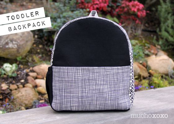 DIY  toddler backpack (pattern from made by rae)  8ea8759da8167