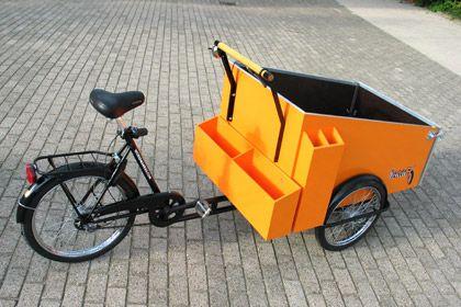Lastenfahrräder fürr Park  Nachbarschaftsunterhalt