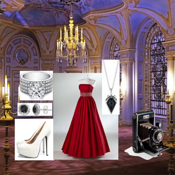 Fairytail Evening, created by chrystal-sutton on Polyvore