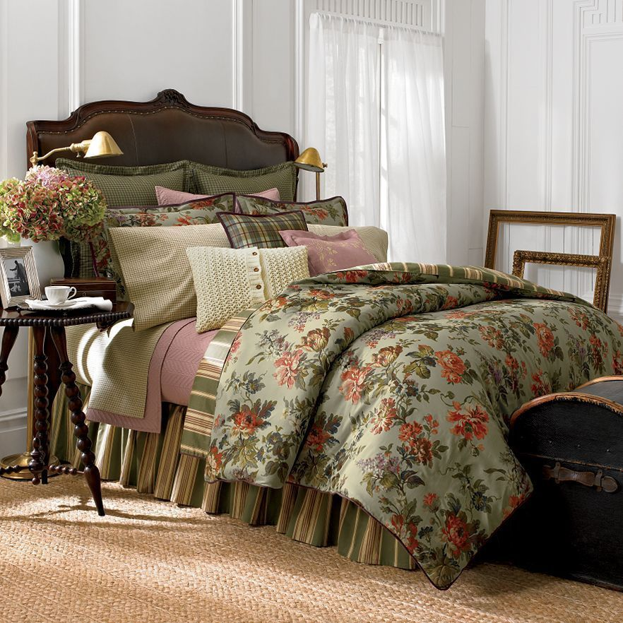 This Is The Chaps By Ralph Lauren Brittany Collection There Are Also Two Other Floral Prints Called Brittany By Rl Home Comforter Sets Comfortable Bedroom