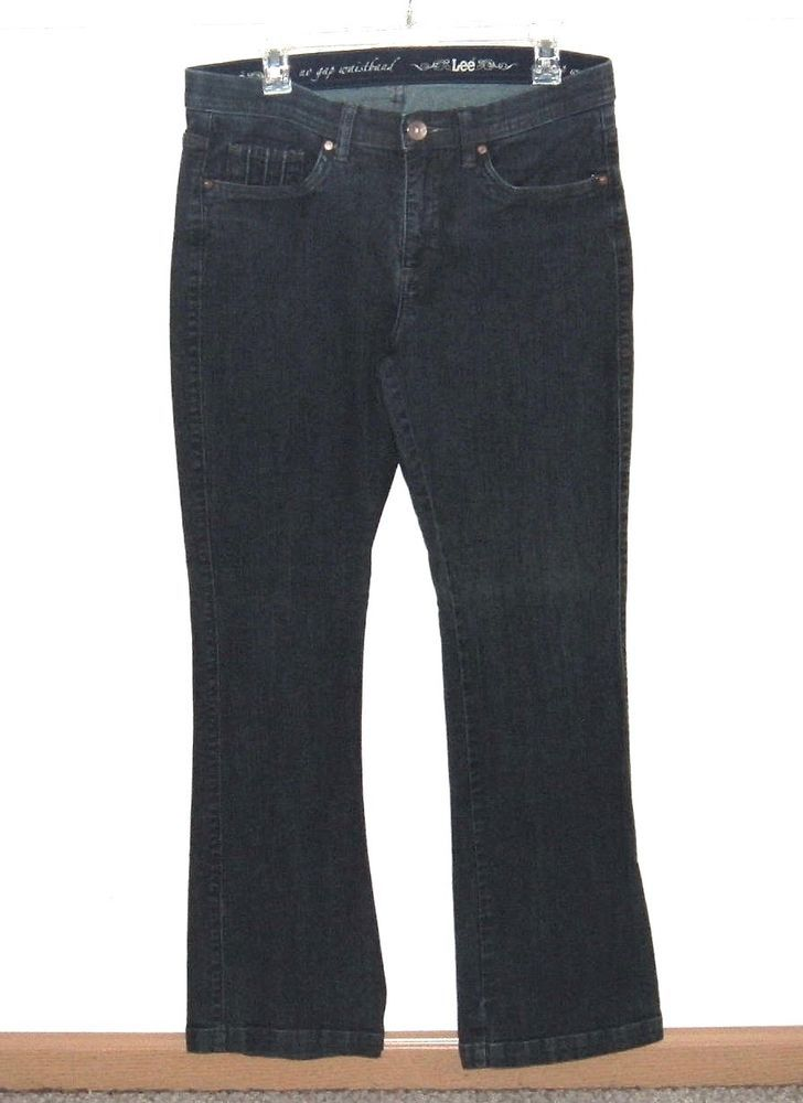 performance sportswear classic styles undefeated x Lee Comfort No Gap Waistband Boot Cut Jeans Womens 10 Medium ...