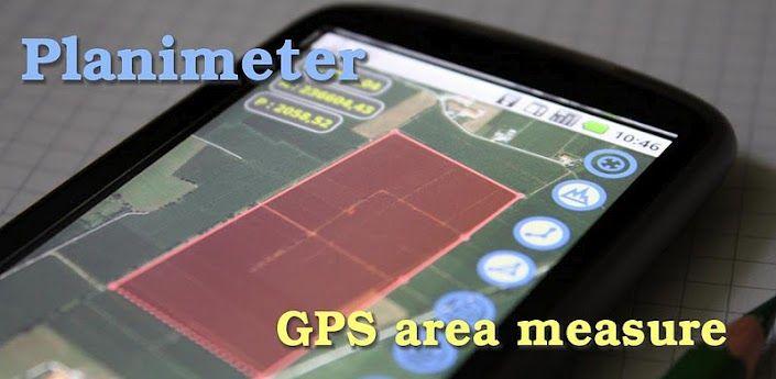 Planimeter - GPS area measure  All kinds of measurements on