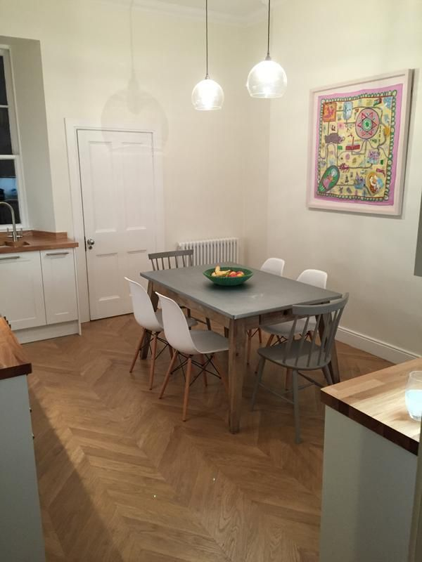 Alessano Natural Herringbone Oak Effect Laminate Flooring 1.39 m² ...