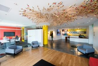 Western union san francisco offices reception and waiting area