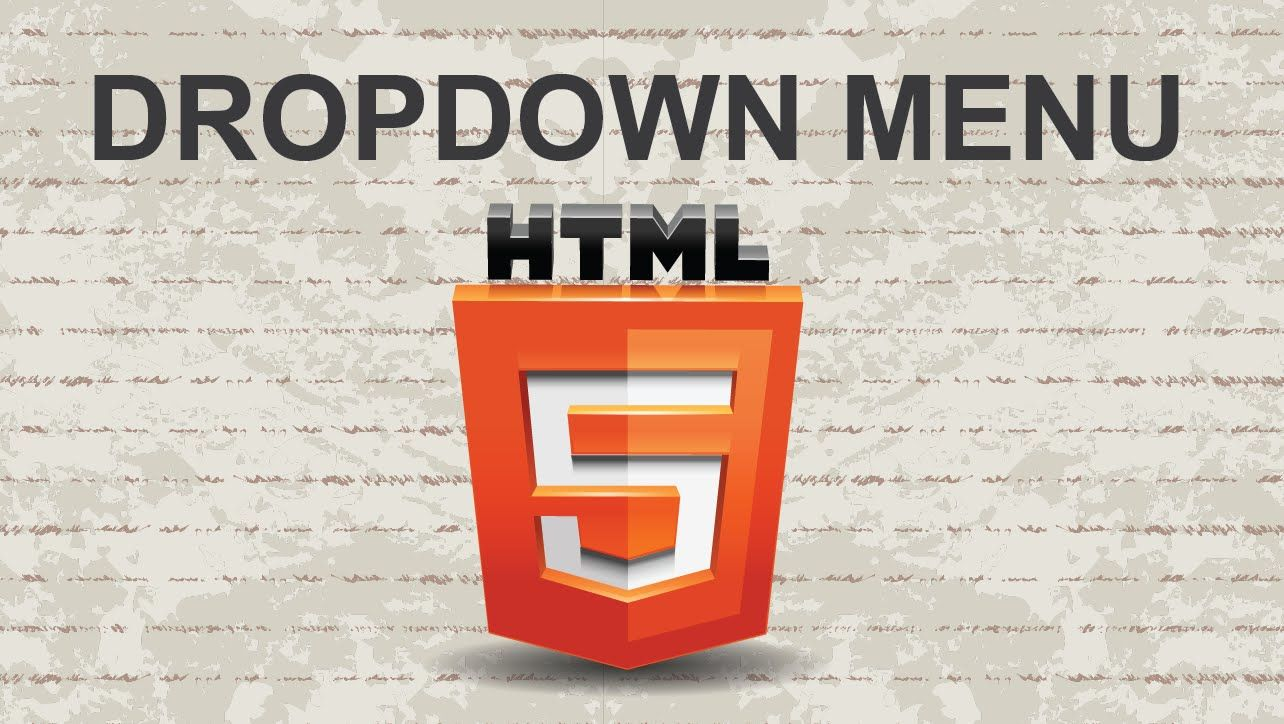 Create drop down menu html html html5 video youtube website this video tutorial will show you how to create button link in html code the lazy choice tutorial just copy paste this html code baditri Images