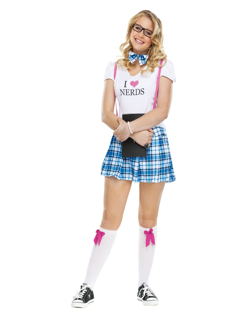 I Love Nerds Tween Costume at Spirit Halloween - If youu0027re a sucker for the smart guys why not try this I Love Nerds Tween Costume on for size?  sc 1 st  Pinterest & I Love Nerds Tween Costume at Spirit Halloween - If youu0027re a sucker ...