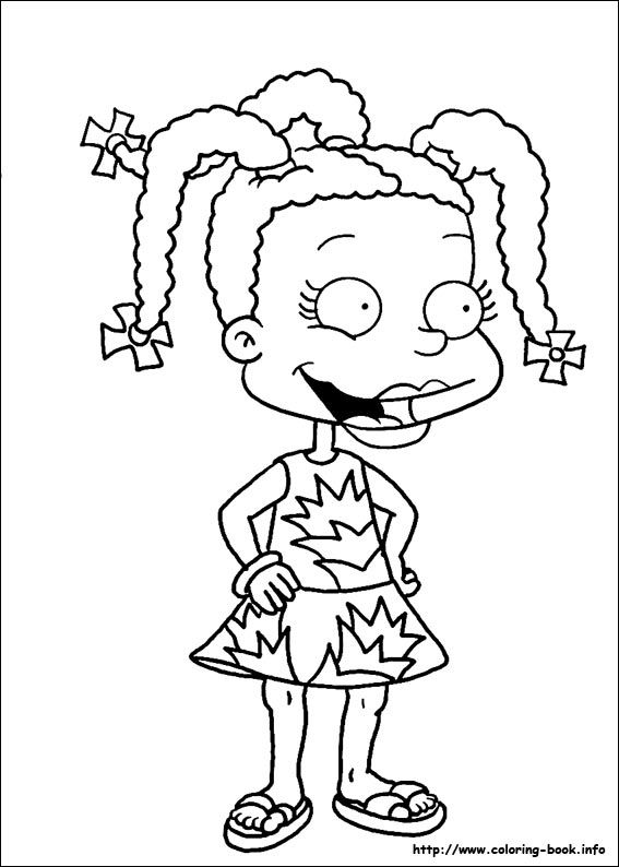 rugrats coloring pages on coloring bookinfo - Rugrats Characters Coloring Pages