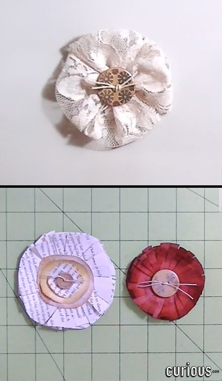 Paper Flowers Are Fun And Easy To Make Come In Handy For Many Craft Projects This Lesson Learn How Using Simple Techniques
