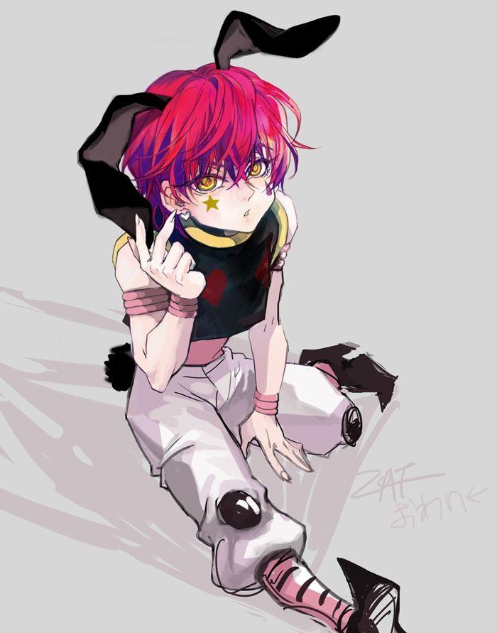 Cute, little Hisoka        ~Hunter X Hunter