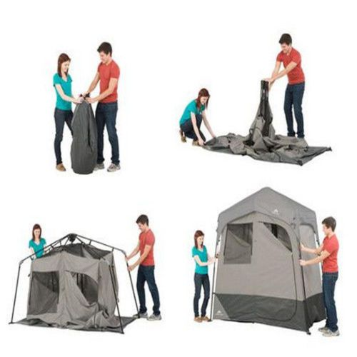 Outdoor Solar Heated Shower Portable Tent Canopy Shelter C&ing Utility Room  sc 1 st  Pinterest & Outdoor Solar Heated Shower Portable Tent Canopy Shelter Camping ...