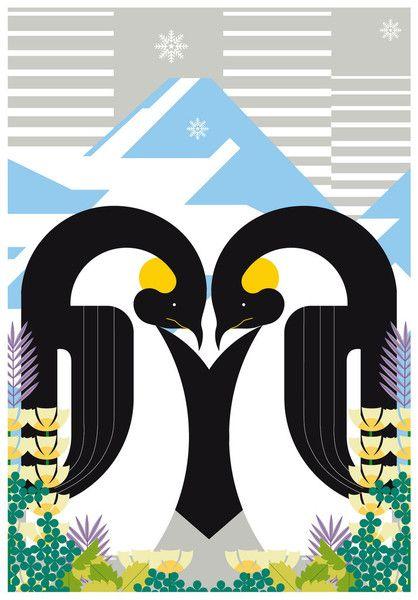 HEY! Studio Penguin Love £25.00 Kemistry Gallery