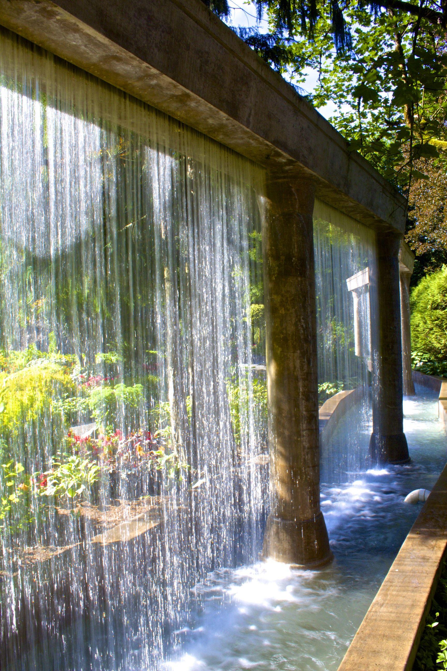 Water Wall Minter Gardens Chilliwack Bc Fountains 400 x 300
