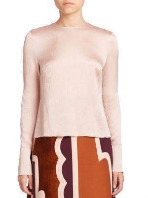 ROKSANDA Kentridge Satin Top. #roksanda #cloth #top