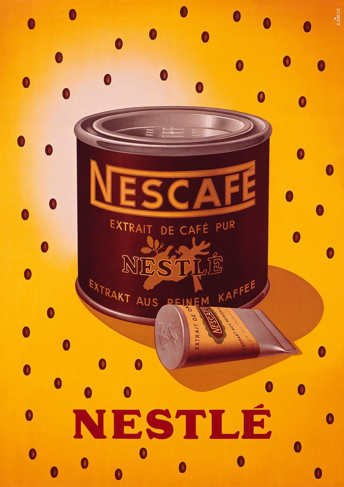 NESCAFÉ 75 Ans de savoir faire café. Retour en 1940