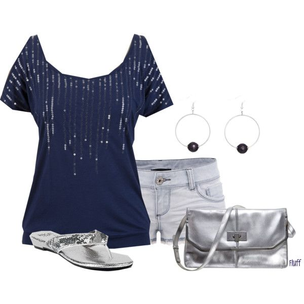 A fashion look from May 2012 featuring TALLY WEiJL shorts, BKE Sole flip flops and Armani Exchange clutches. Browse and shop related looks.