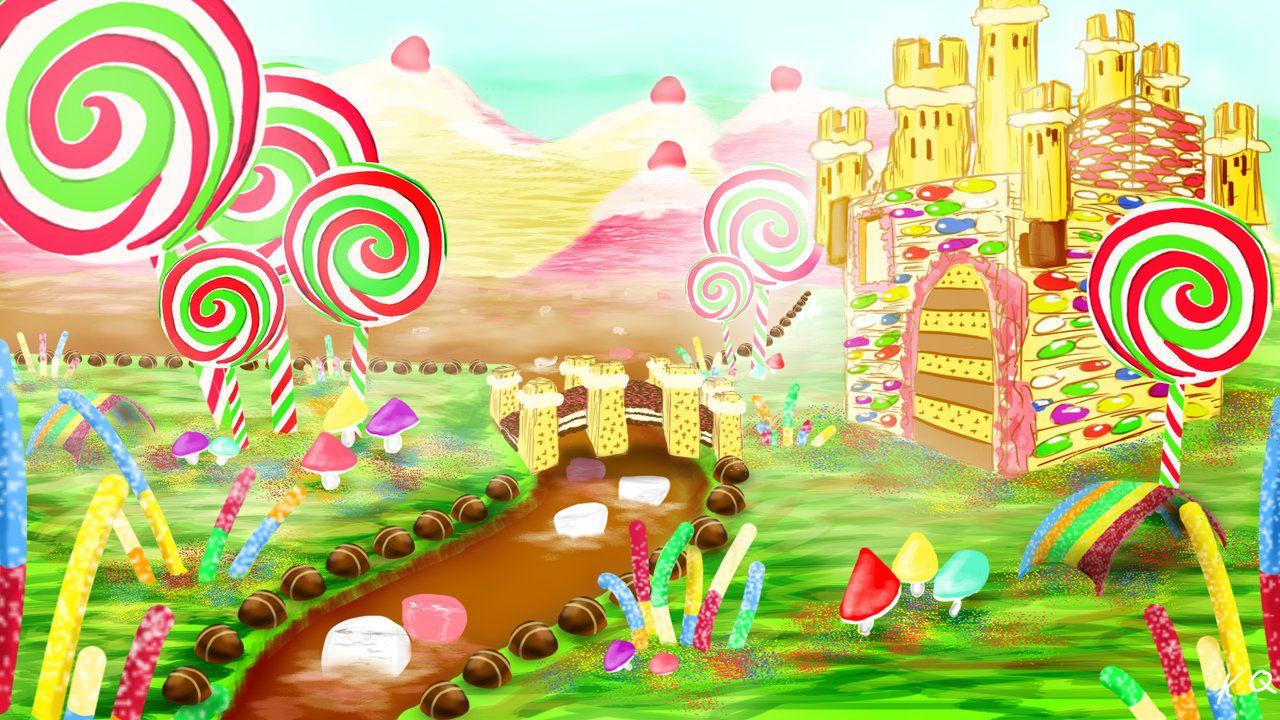 Candyland Wallpaper EP3 By KQ4rtdeviantart On DeviantArt