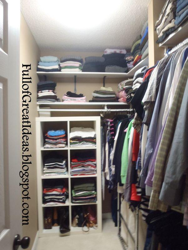 Transform A Long Narrow Closet Google Search Closet Renovation Small Master Closet Clever Closet