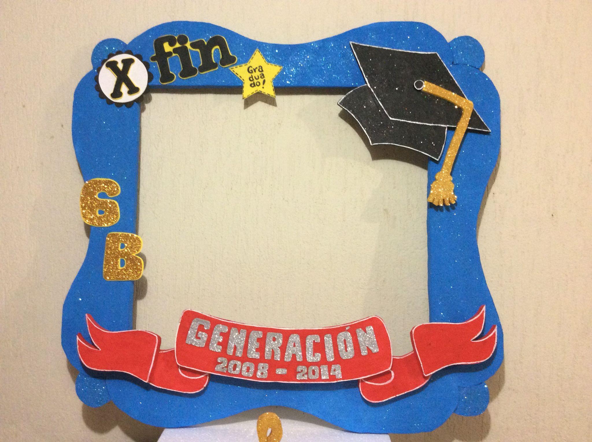 marco de fotos para graduacin