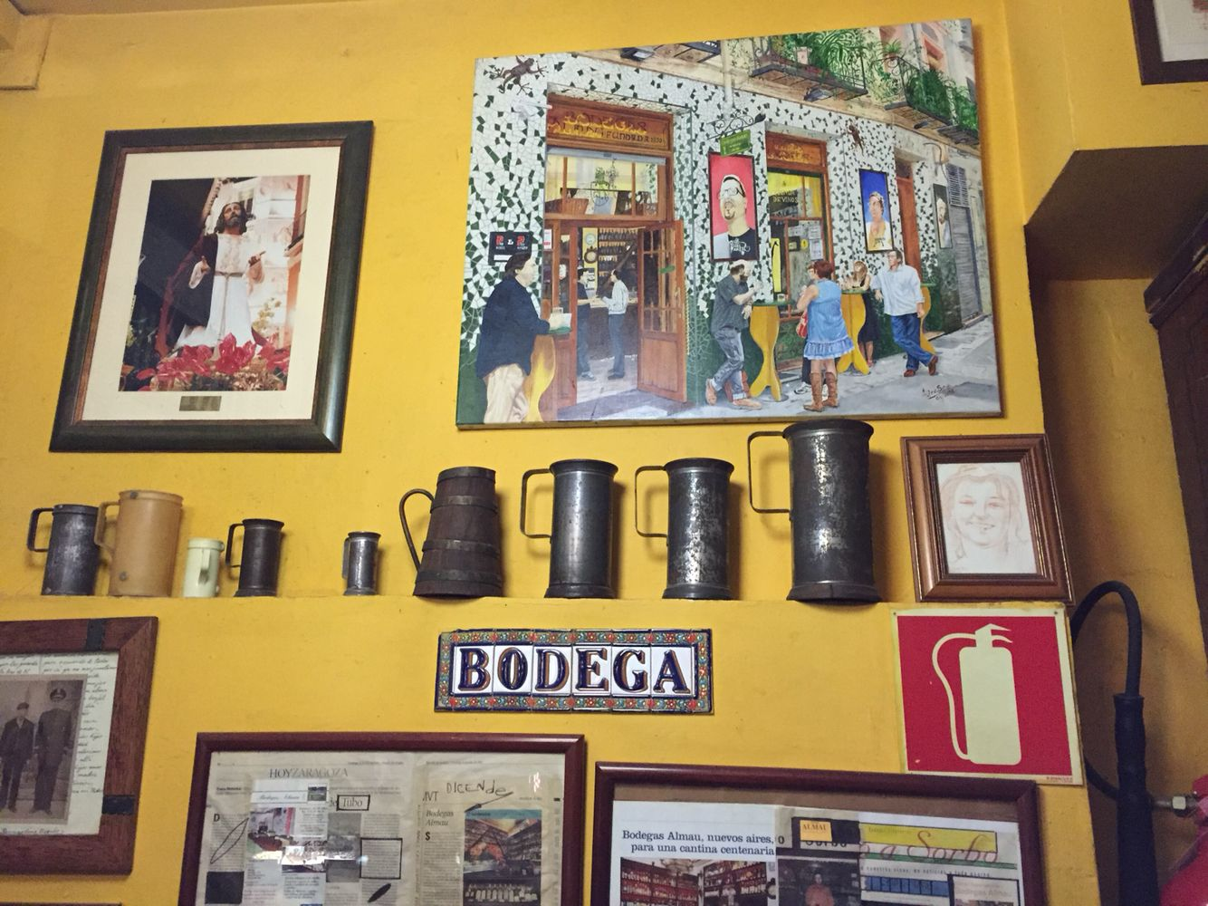 """""""El tubo"""" in Saragozza"""