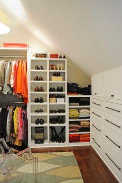 Attic Closet Ideas Angled Ceilings Ikea