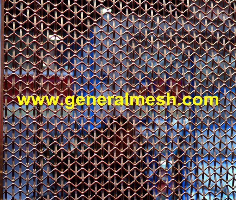 Architekturgewebe Architektur Metallgewebe Hebei Allgemeine Metall Drahtgewebe Gmbh Anwendungen Decorative Room Dividers Facade Cladding Interior Cladding