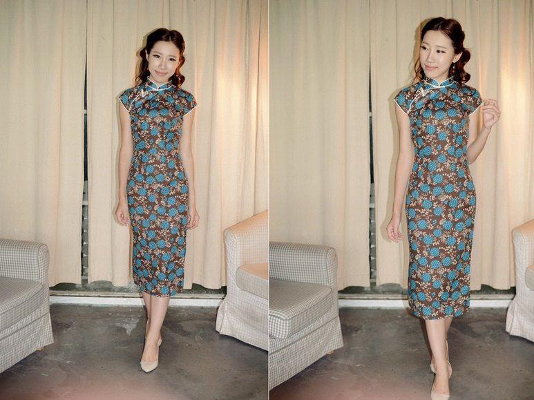 chinesischen nationalen Tang Anzug Qipao Kleid von ...