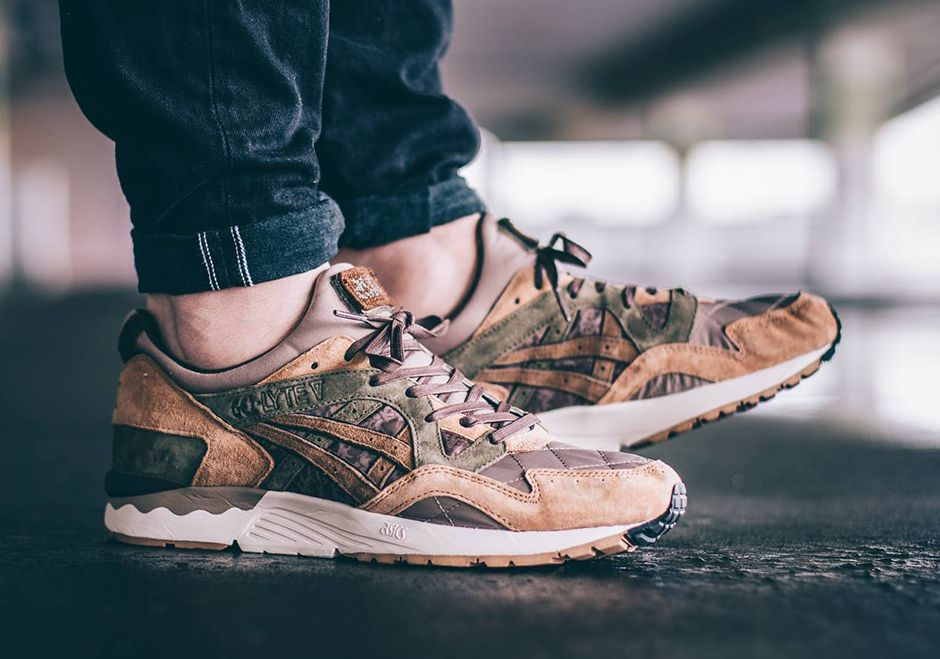 The Kicks Lab x Asics Gel Lyte 5 Phys Ed Is A Uniform You Wouldn't Mind Wearing