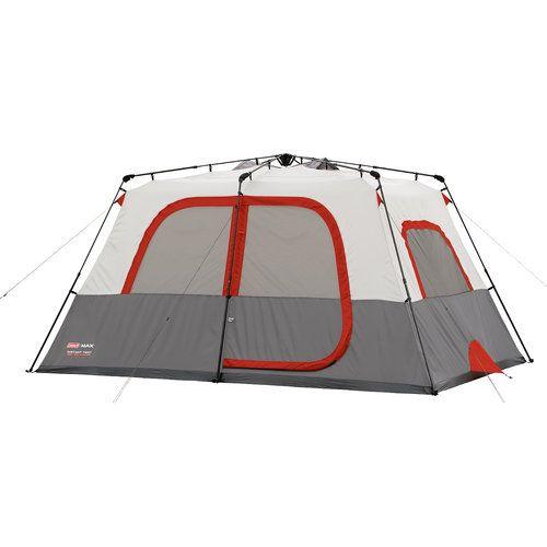 Walmart Coleman Max 8 Person Instant Cabin Tent Cabin Tent Tent Instant Tent