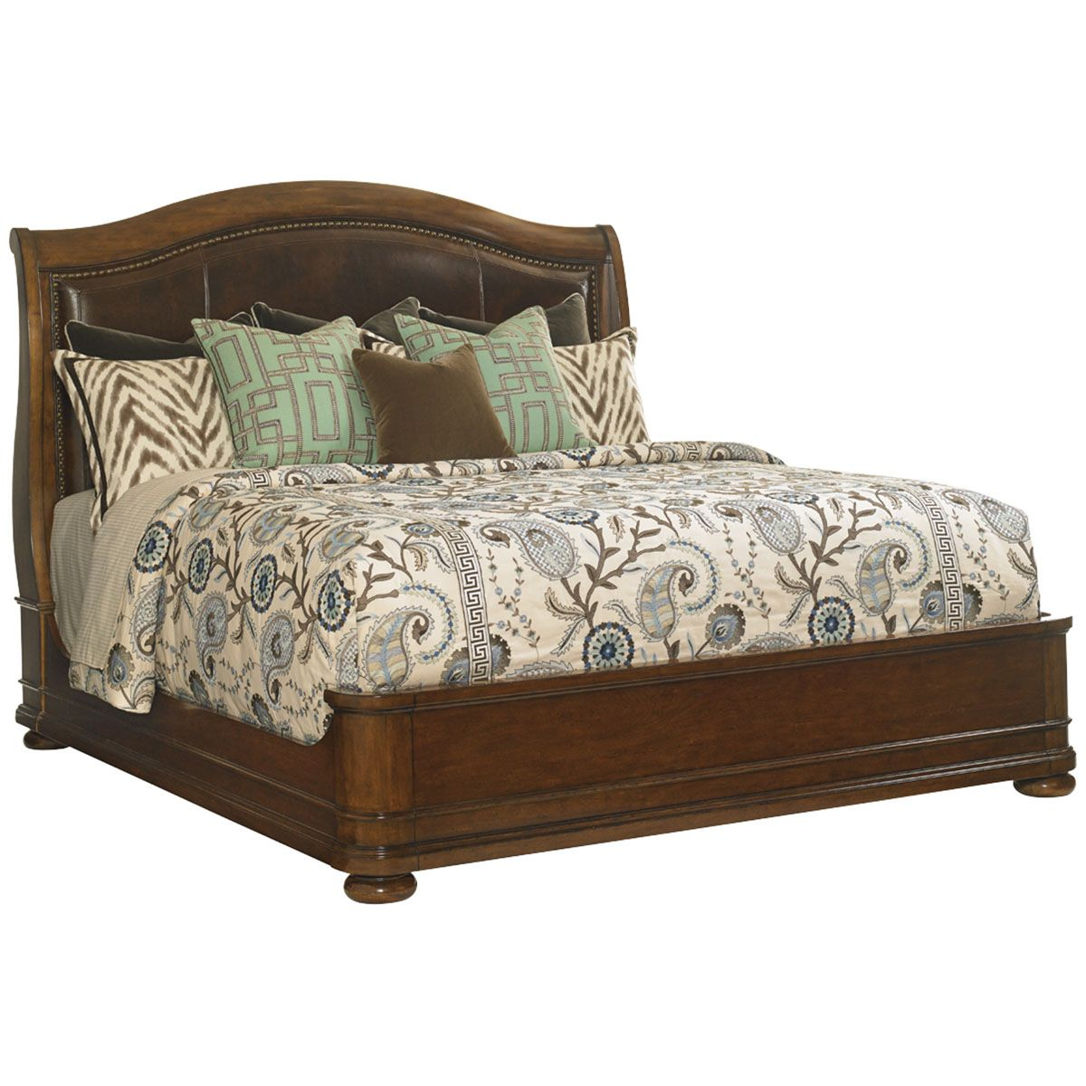 Lexington Bedroom Sets Brilliant Lexington Home Brands Chandler Mills Sleigh Bed 66 King 945190C Decorating Design