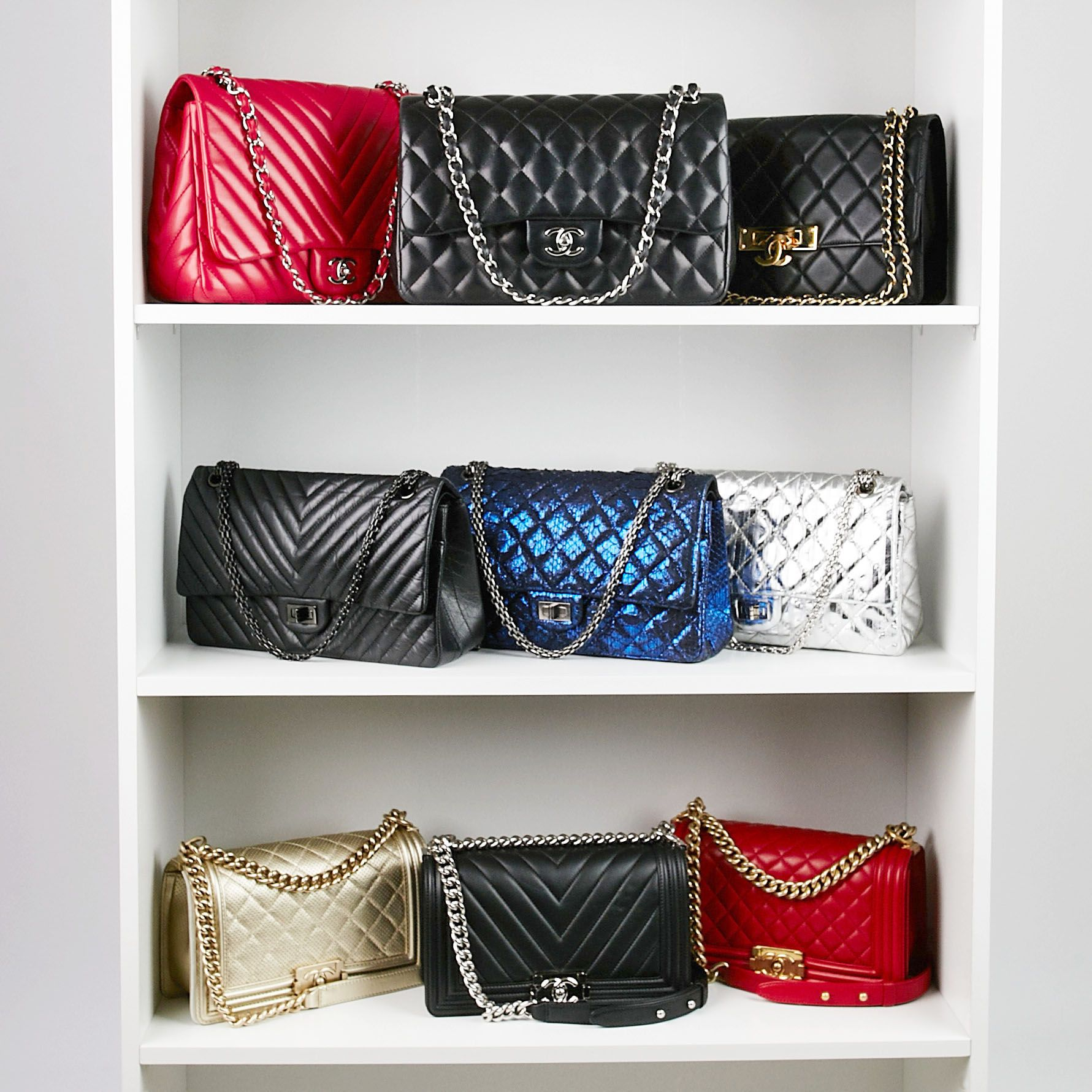 9c3eed59386a A fashion lover's dream come true; a closet full of Chanel! - Yoogi's Closet  | #Chanel
