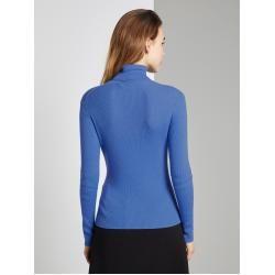 Photo of Tom Tailor Damen Toni Garrn: Pullover in Ripp-Optik, blau, unifarben, Gr.xl Tom TailorTom Tailor