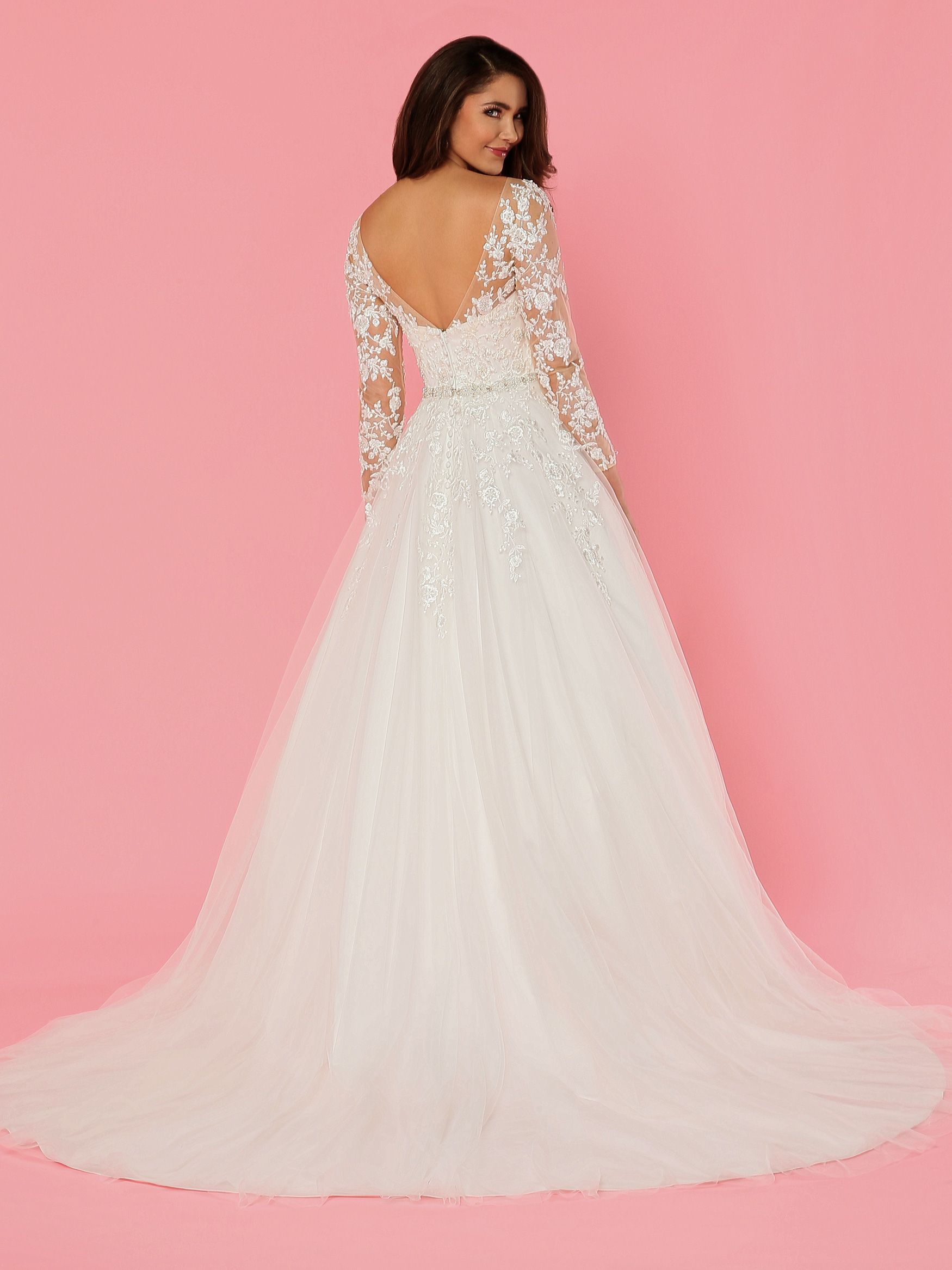 Image showing back view of style #50470 | B Wedding Dresses | Pinterest