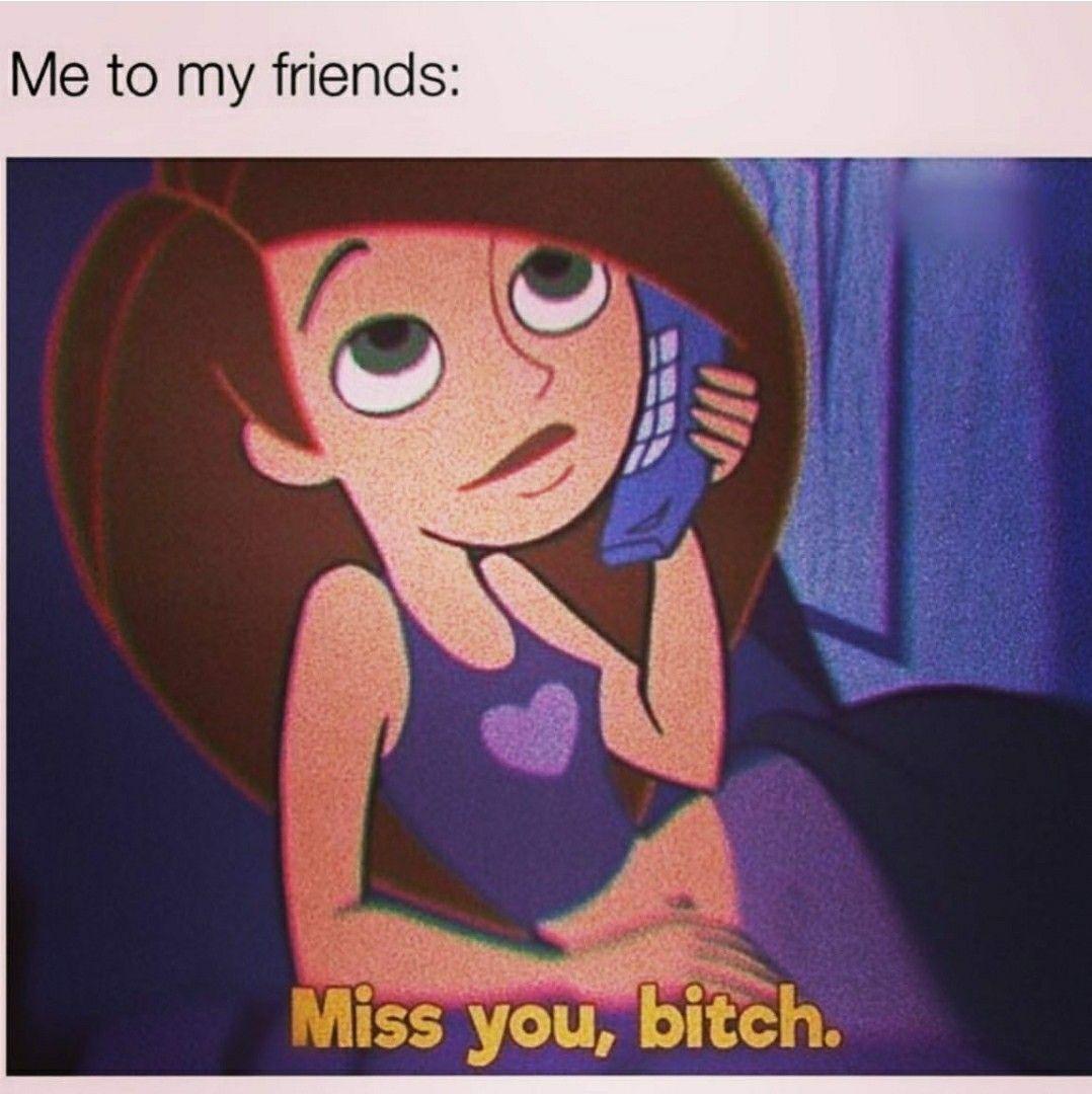 Miss You Meme Funny Friend
