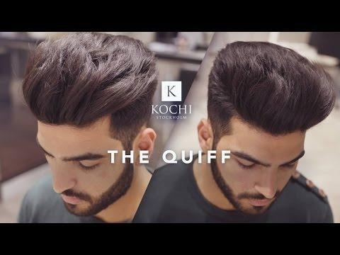 Big Volume Quiff Mens Haircut And Hairstyle 2017 Volume Hair