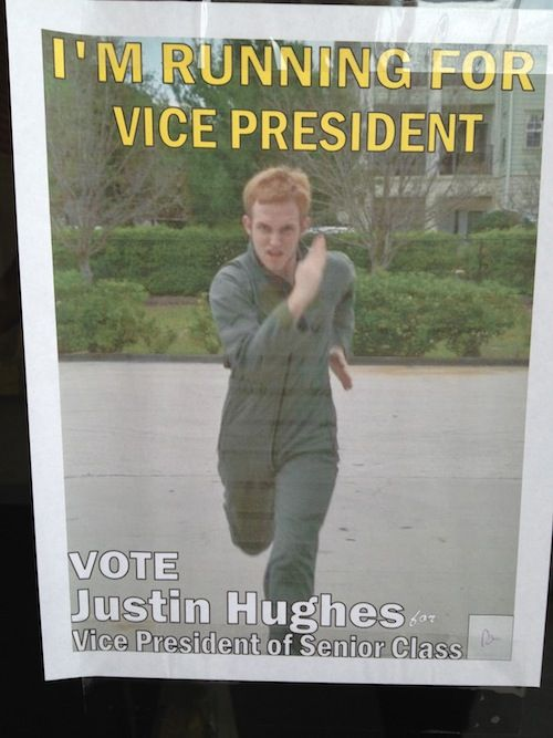 These Student Election Posters Will Make You Wish You Were ...